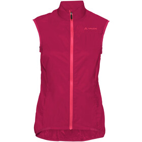 VAUDE Air III Fietsvest Dames, crimson red